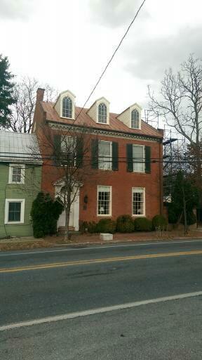 Abraham Jones House. Libertytown, MD. Dormers. Enough said.