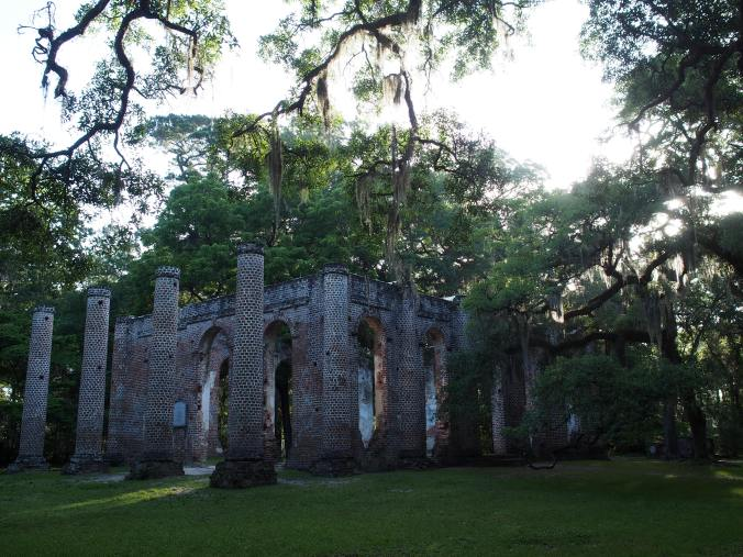 Sheldon Church Ruins. A chapel of ease that was burnt by the British during the Revolutionary War, and then burnt again by the Union. My favorite place in South Carolina.