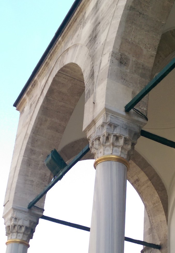 Column Capital at Aga Camii